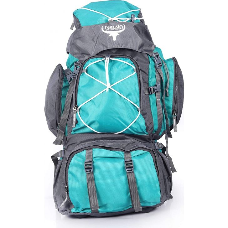 Mammoth Large Polyester Rucksack in Green Colour by Buffalo