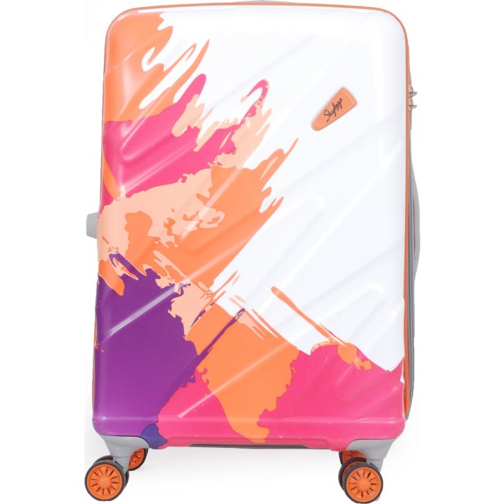 Polycarbonate in Orange Colour by Skybags