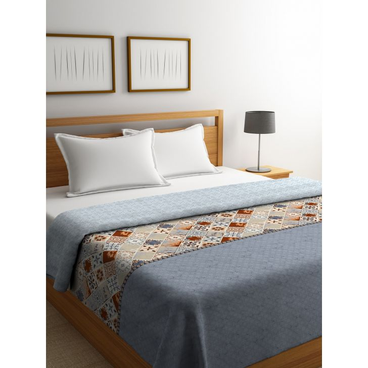 Portico New York Mosaics King Comforter in Multicolor Color by Portico