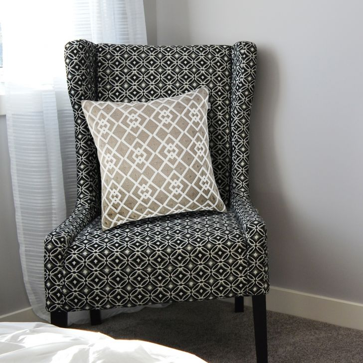Oak Cotton Cushion Covers in Grey Colour by Living Essence