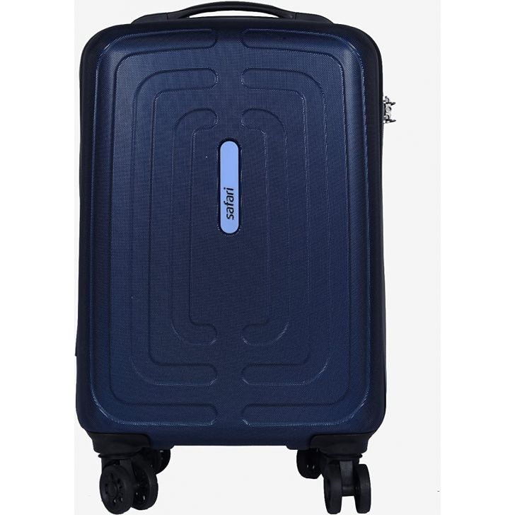 Amaze 67 cm Polycarbonate Hard Trolley in Blue Colour by SAFARI