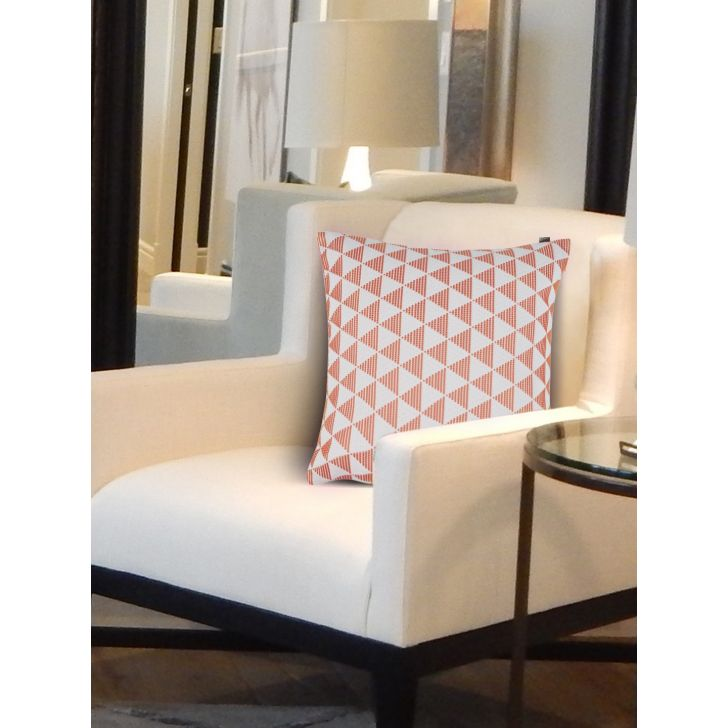 Chic Affair Leo Polyester Cushion Covers in Blush Colour by Living Essence