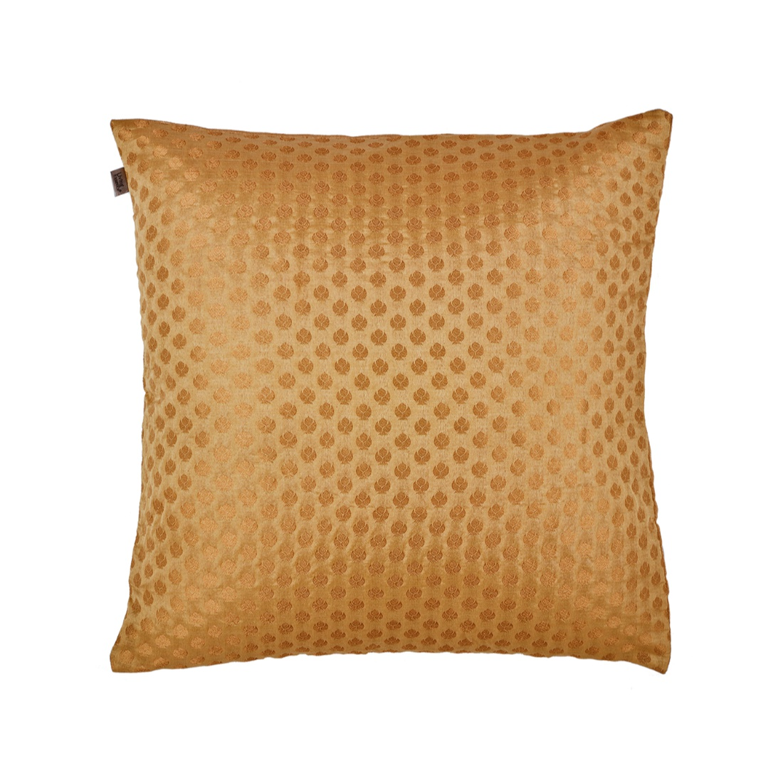 Noir Cushion Cover Gold Polyester Cushion Covers in Gold Colour by Living Essence
