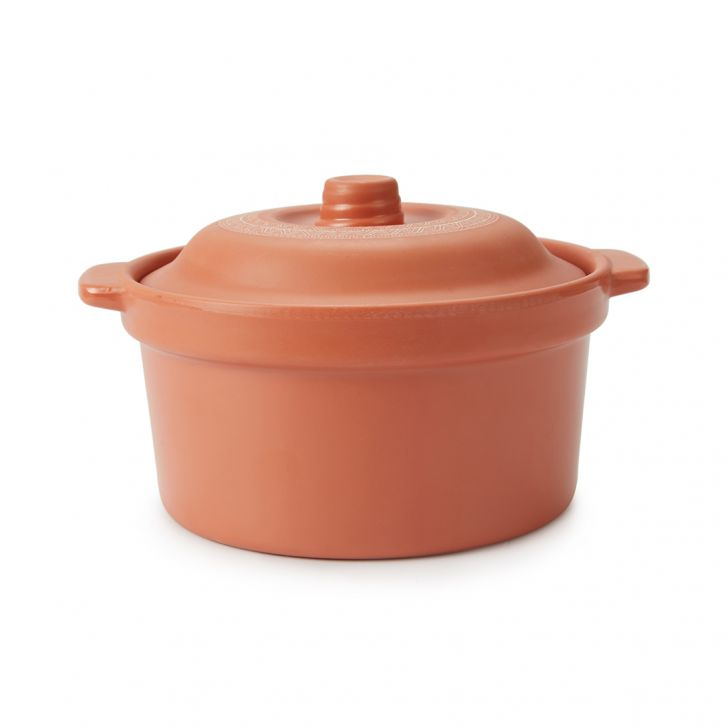 Terracotta Bowl With Lid