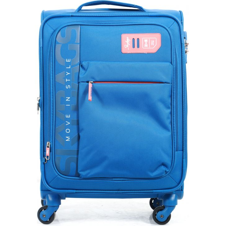 Skybags Vanguard Large Soft Trolley 58 cm (Blue)