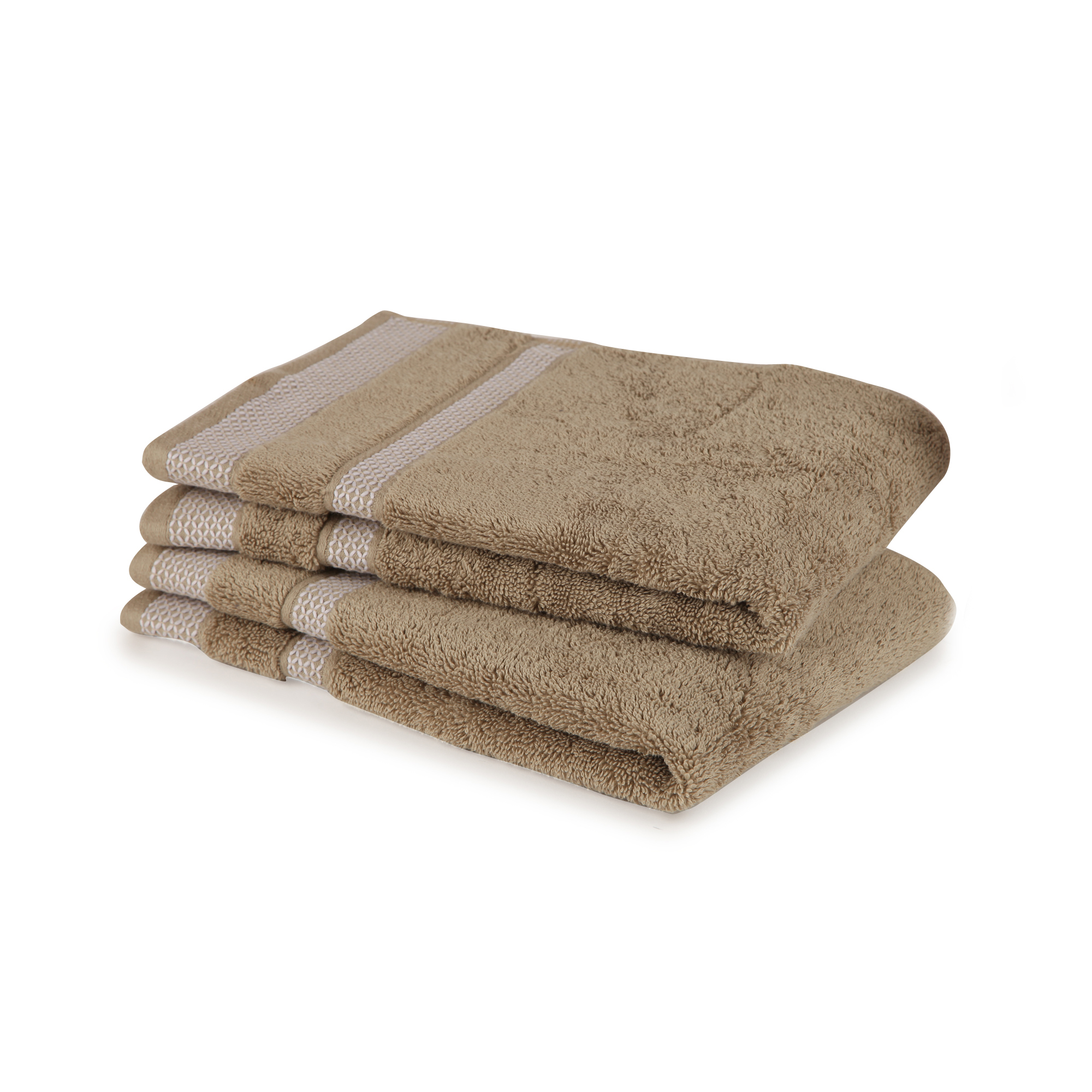Spaces Core Double Bed Sheets in Taupe Colour by Spaces