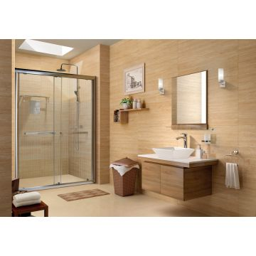 Elegant 4ft Shower Room in Clear Glass Colour by HomeTown