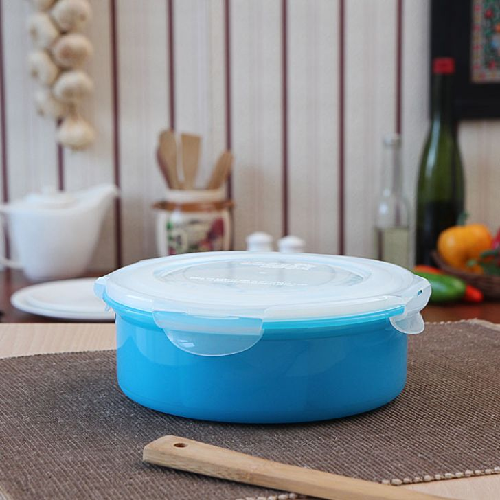 Lock & Lock Clear & Blue Spice Kit Polypropylene Containers in Transparent Colour by Lock & Lock