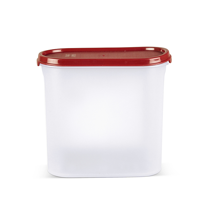 Polyset Magic Seal Container Oval Maroon Containers by Living Essence