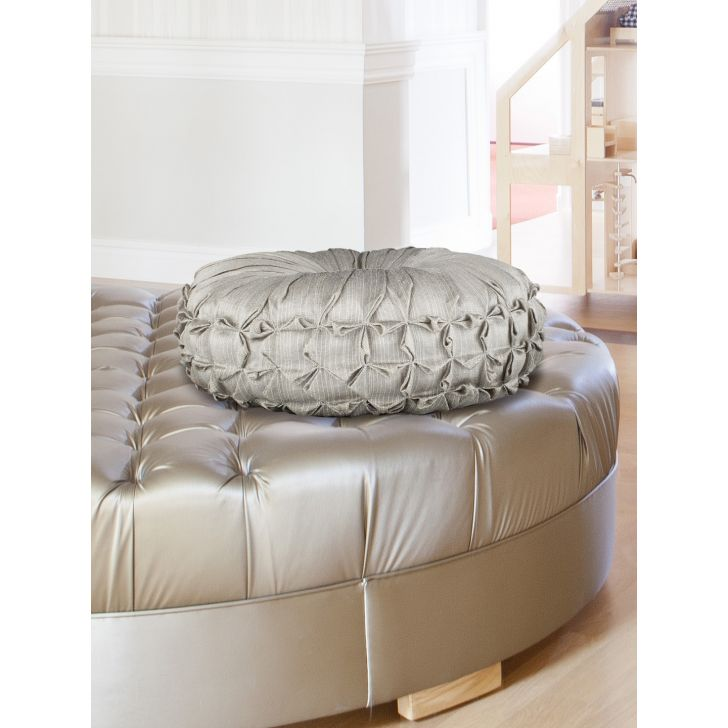 Fiesta Polyester Filled Cushions in Grey Colour by Living Essence