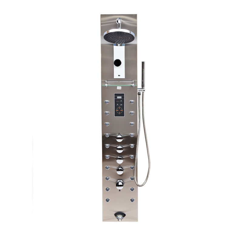 Apollo Stainless steel Shower Multifunctions in Steel Colour by HomeTown
