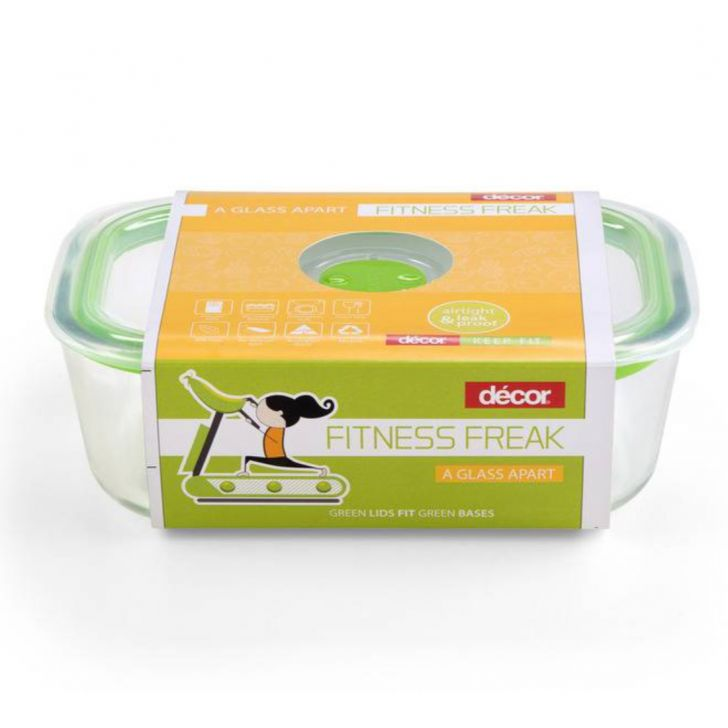 Fitness Freak 100 Oblong Glass 1.5L