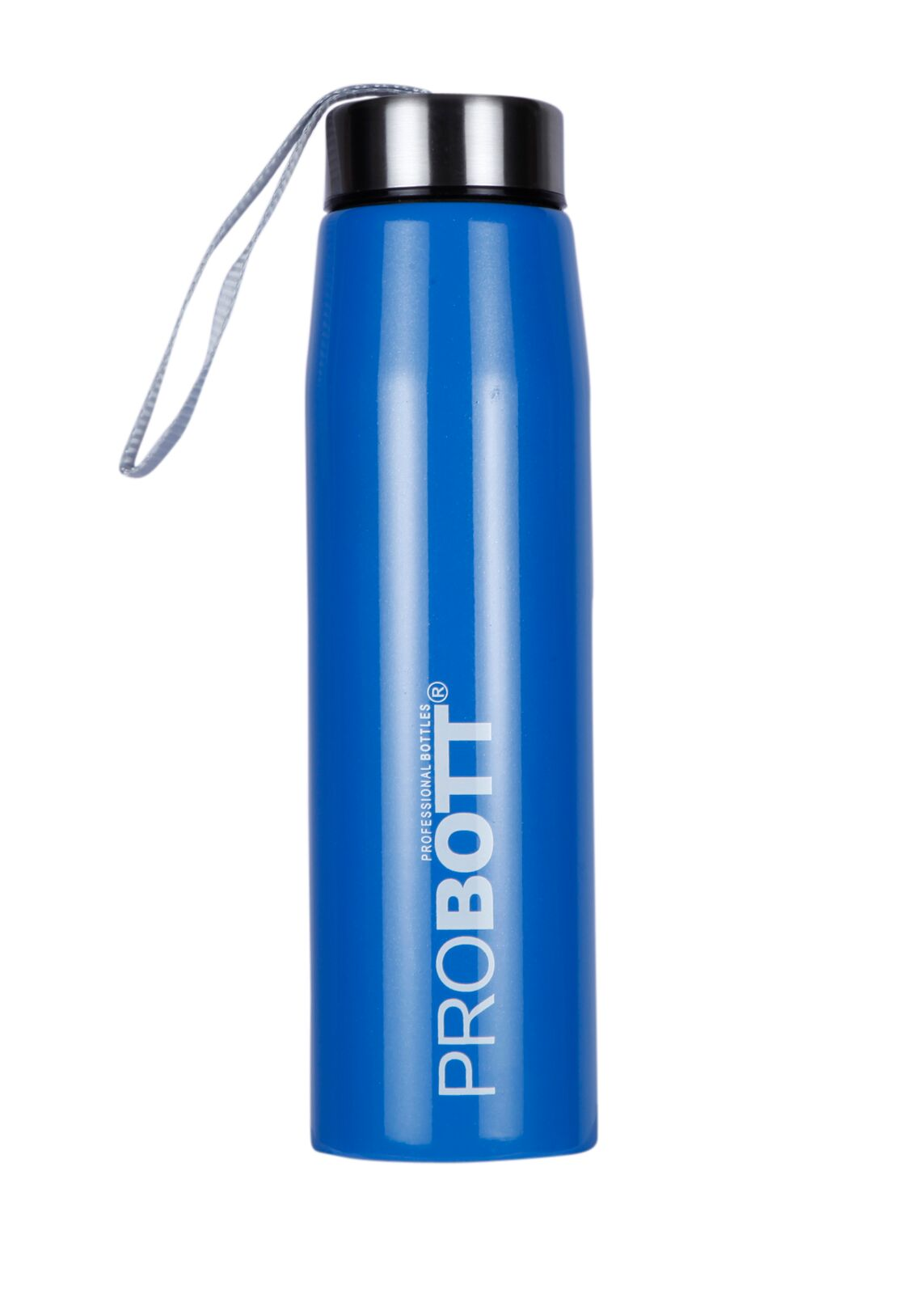 Probott Sport Bottle 500 Ml With Sling Stainless steel Thermoware in Black / Orange / Green / Pink / Blue Colour by Probott