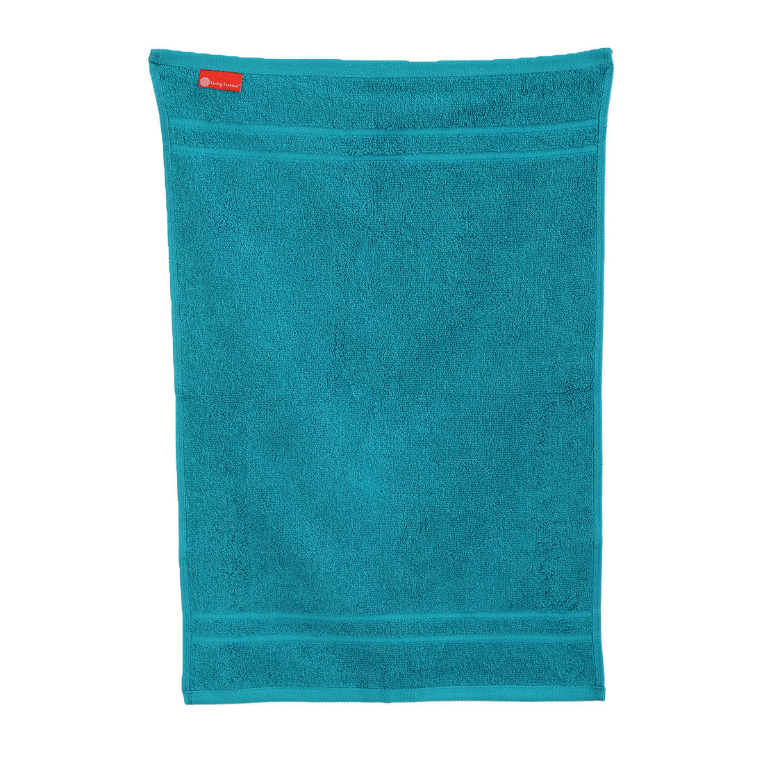 Hand Towel 40X60 Nora Turq Combed Cotton Hand Towels in Turquoise Colour by Living Essence