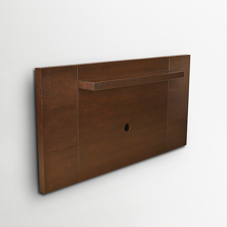 Prestige Solid Wood TV Unit in Brown Colour by HomeTown