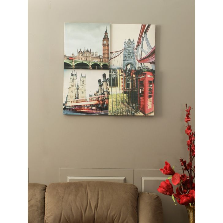 Jade Canvas Painting in Multicolour Colour by HomeTown