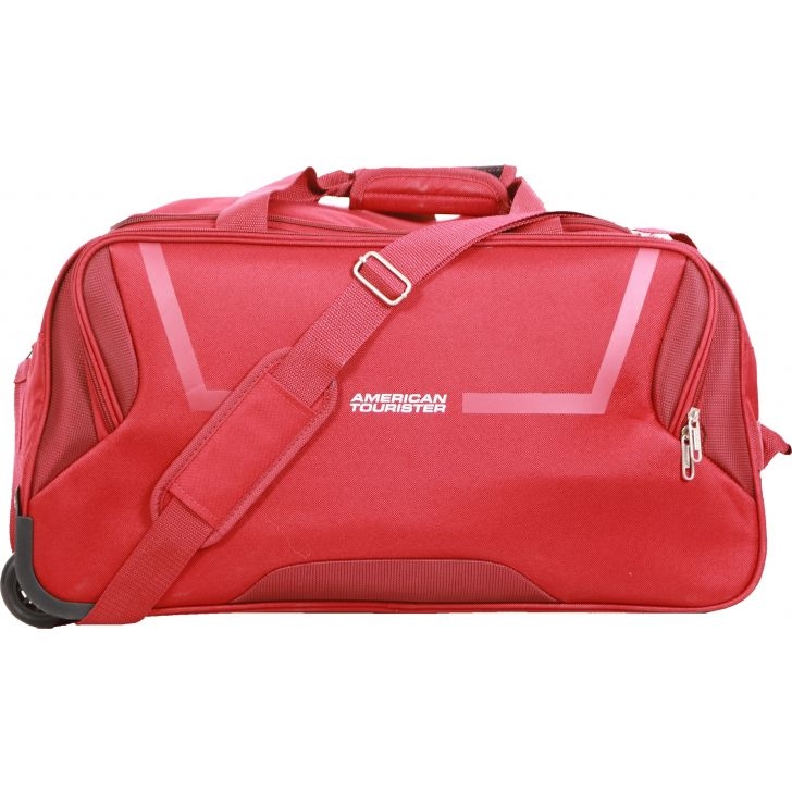 American Tourister Cosmo Wheel On Duffle 67 cm (Red)