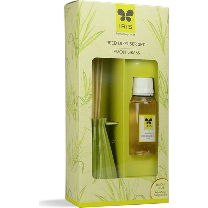 IRIS Reed Diffuser-60Ml-Lemongrass