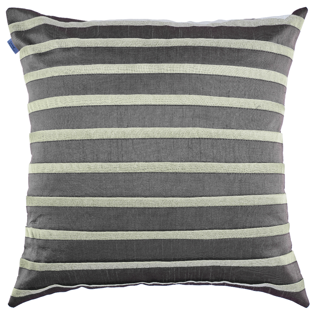 Michelle Polyester Cushion Covers in Black Colour by Living Essence