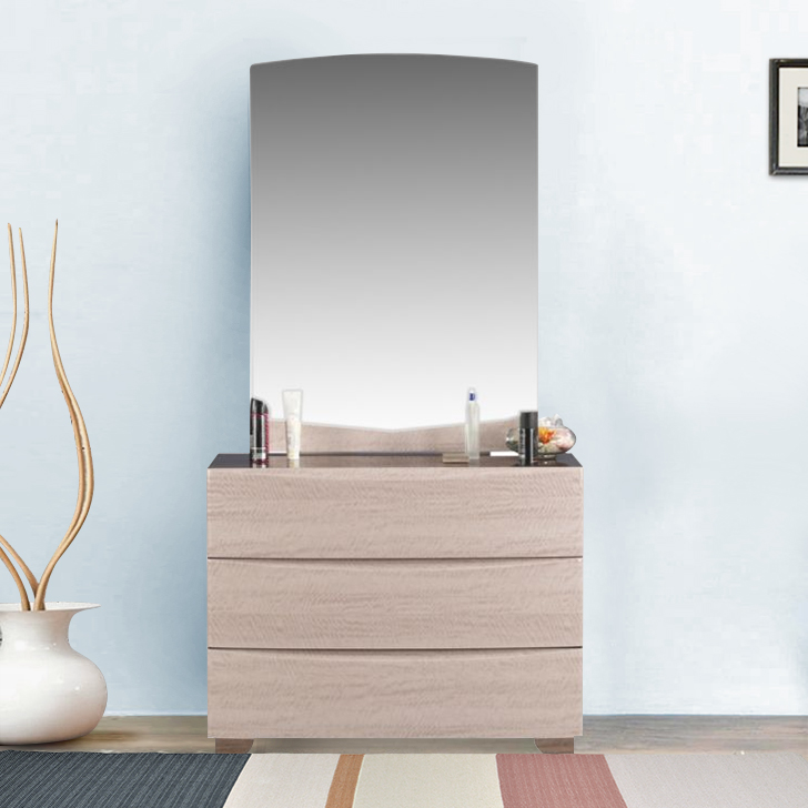 Athena Engineered Wood Dressing Table in Vermount Colour by HomeTown