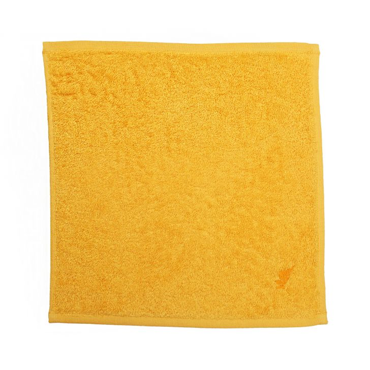 Maspar 550 GSM Embedded Stripe Cotton Yellow Face Towel