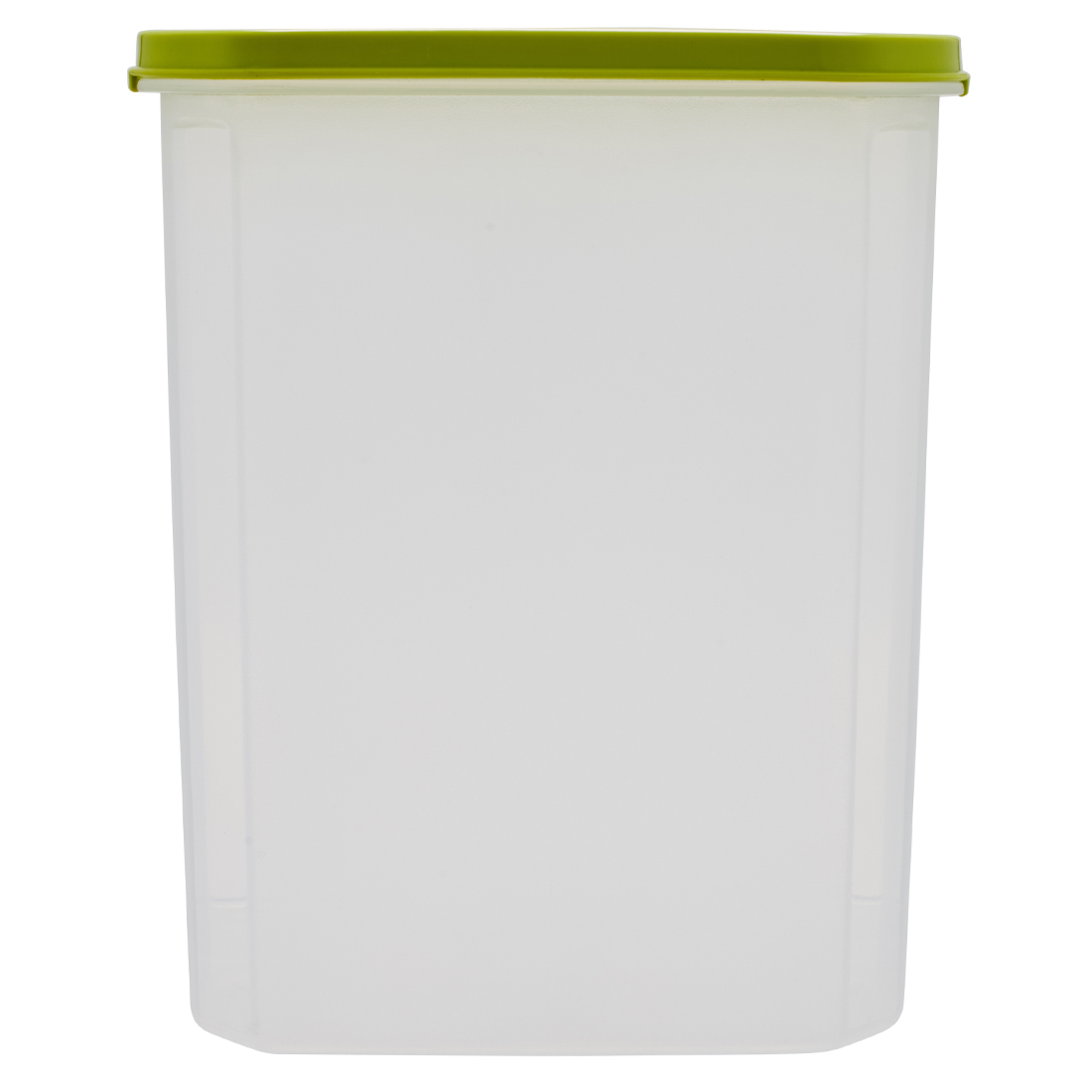 Kitchen Modular Oval 2400 Ml Green Plastic Containers in Green Colour by Living Essence