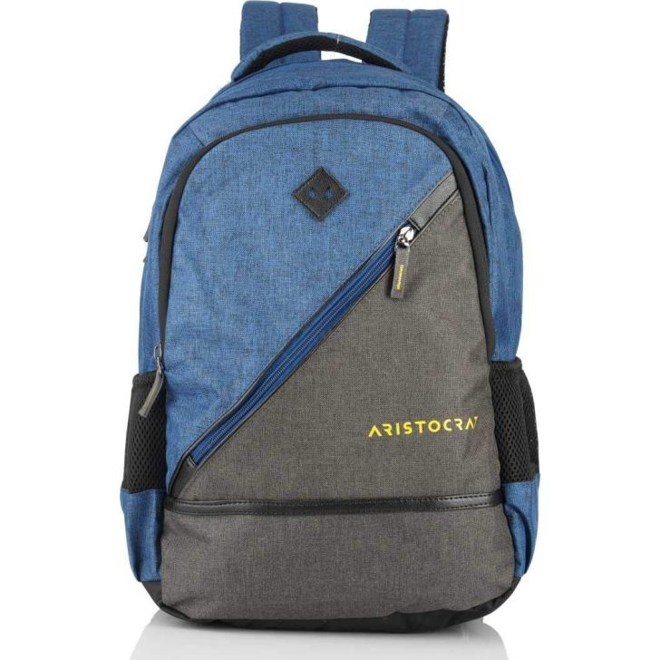 Winner Pro 3 Polyester Backpack in Blue Colour by Aristocrat