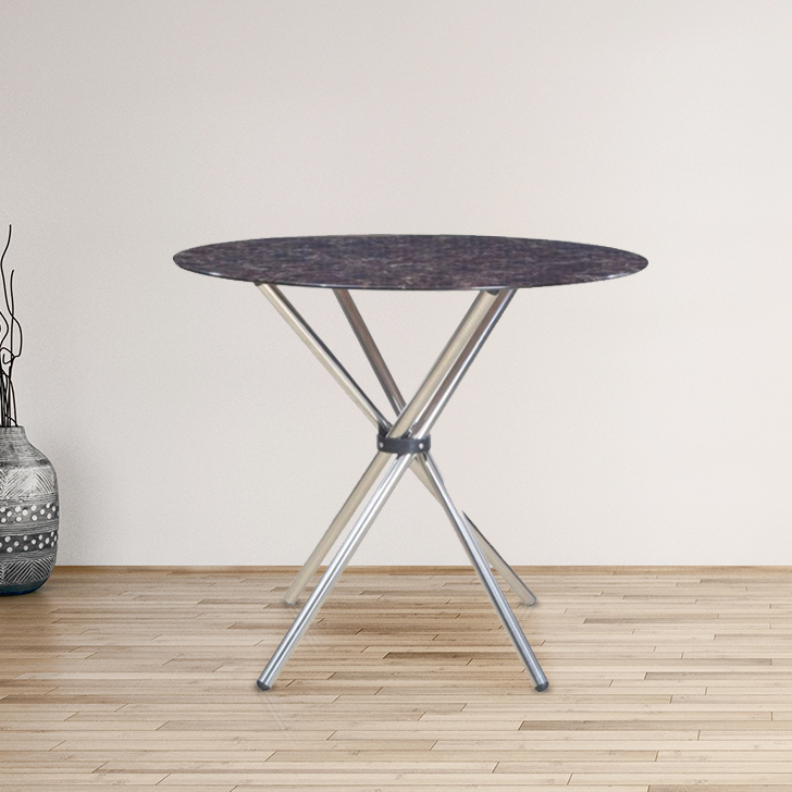 Corral Metal Four Seater Dining Table in Brown Colour by HomeTown