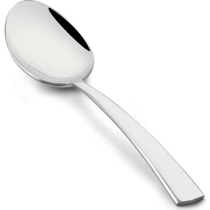 Solo Stainless Steel Serving Spoon Set Of 2 Pcs in Silver Colour by FNS