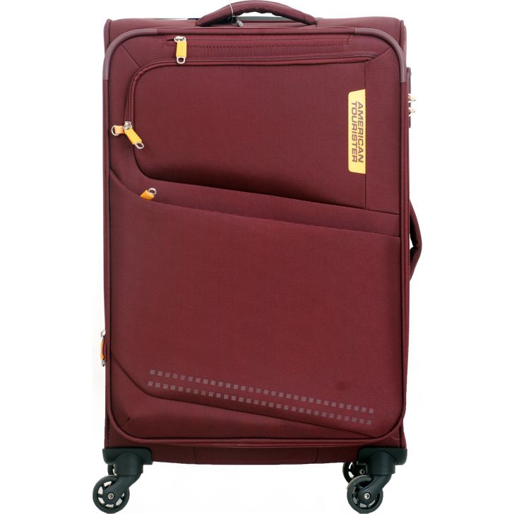American Tourister Denton Soft Trolley 69 cm (Red)