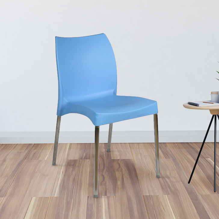 Novella Plastic Office Chair in Plastic & Stainless Steel Colour by HomeTown