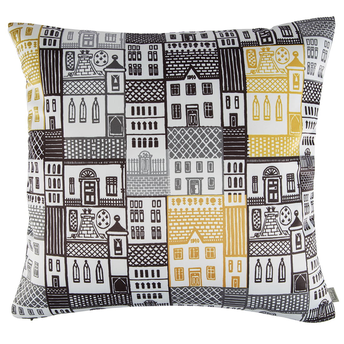 Digital Cushion Cover House Cushion Covers in Poly Satin Colour by Living Essence