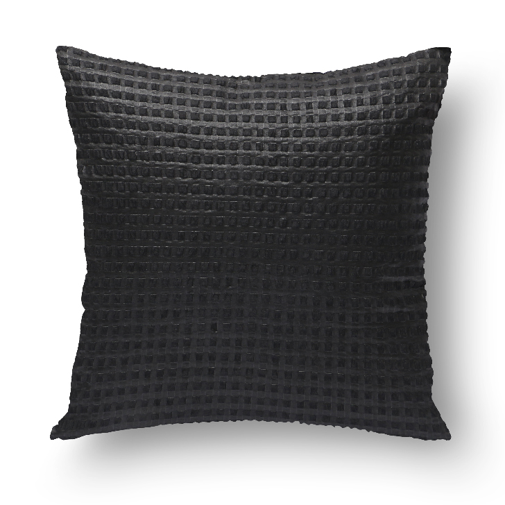 Living Essence Polyester Cushion Fillers in Black Colour by Living Essence