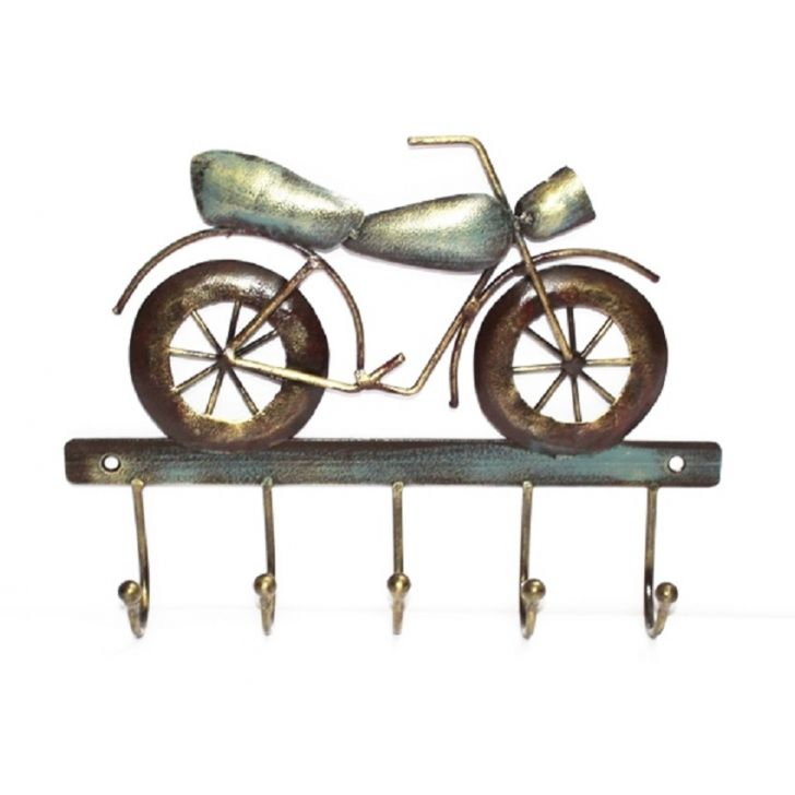 Bike Hook Wall D Iron Wall Accents in Multi Colour by Royce
