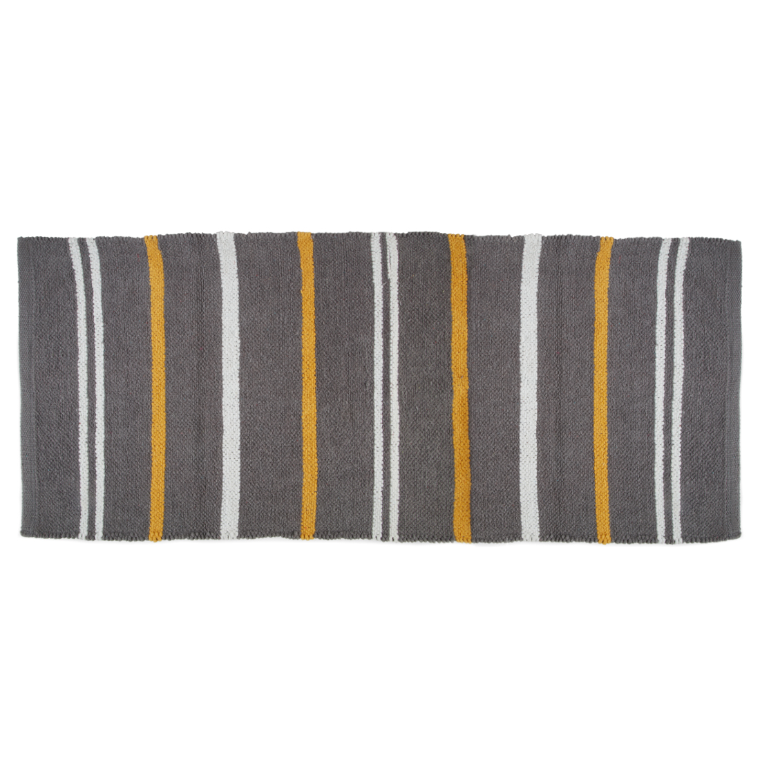 Emilia Chenille Chenille Mats & Rugs in Grey Colour by Living Essence