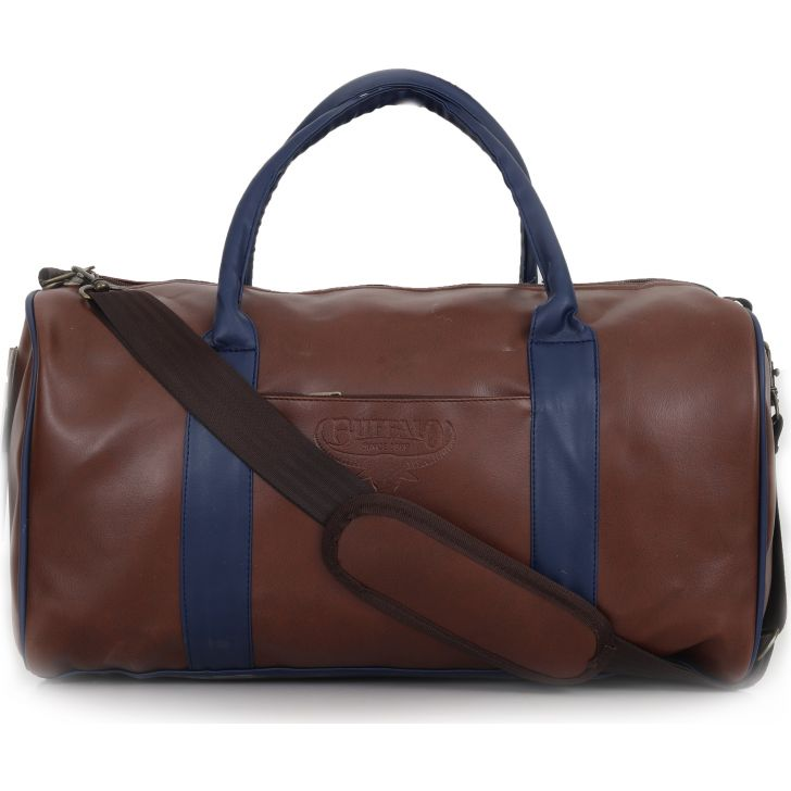 Buffalo Weekender Duffle Bag Brown