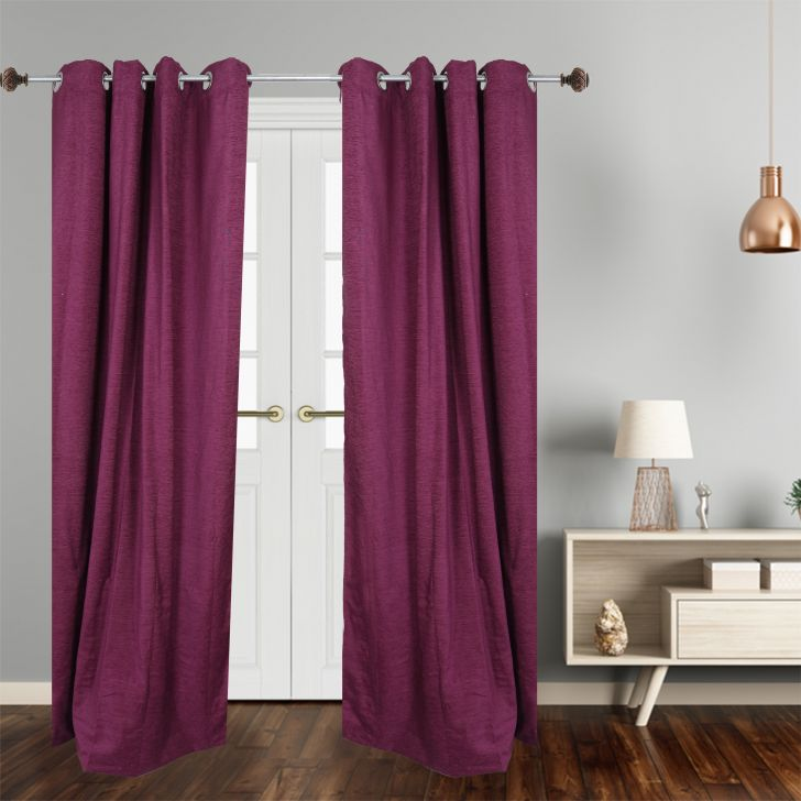 check MRP of purple colour curtains Dreamline
