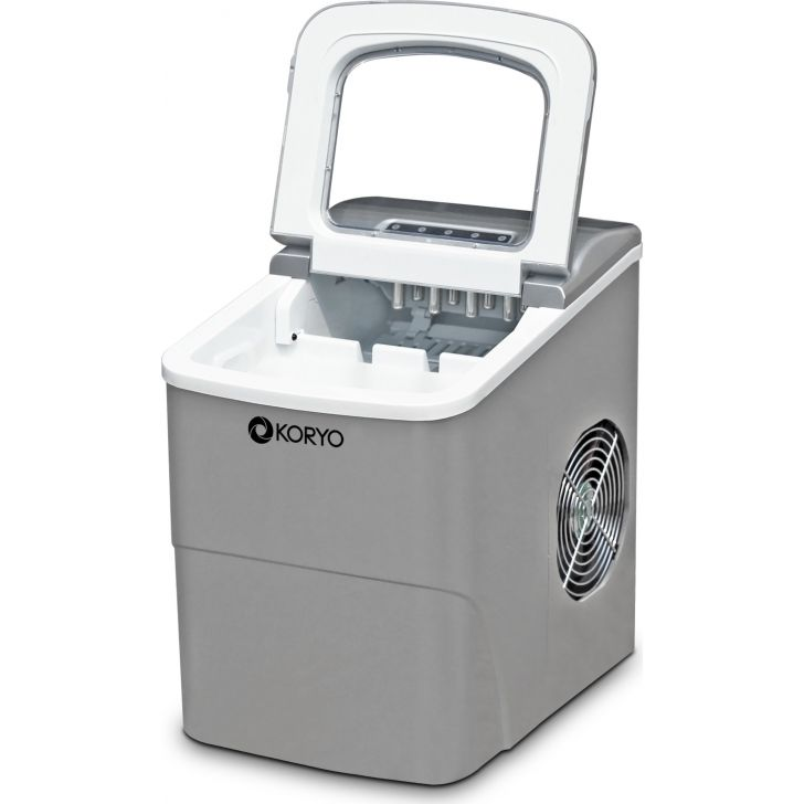 Koryo Ice Maker Kim18D Compact Design, Producing Up To 12Kg Ice Per Day