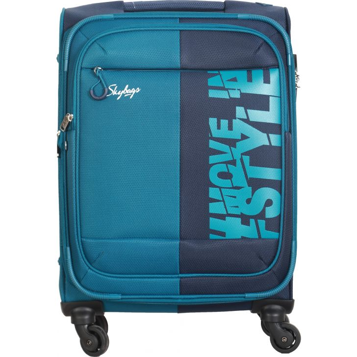 Skybags Fable Expandable Soft Trolley 56 cm (Royal Blue)