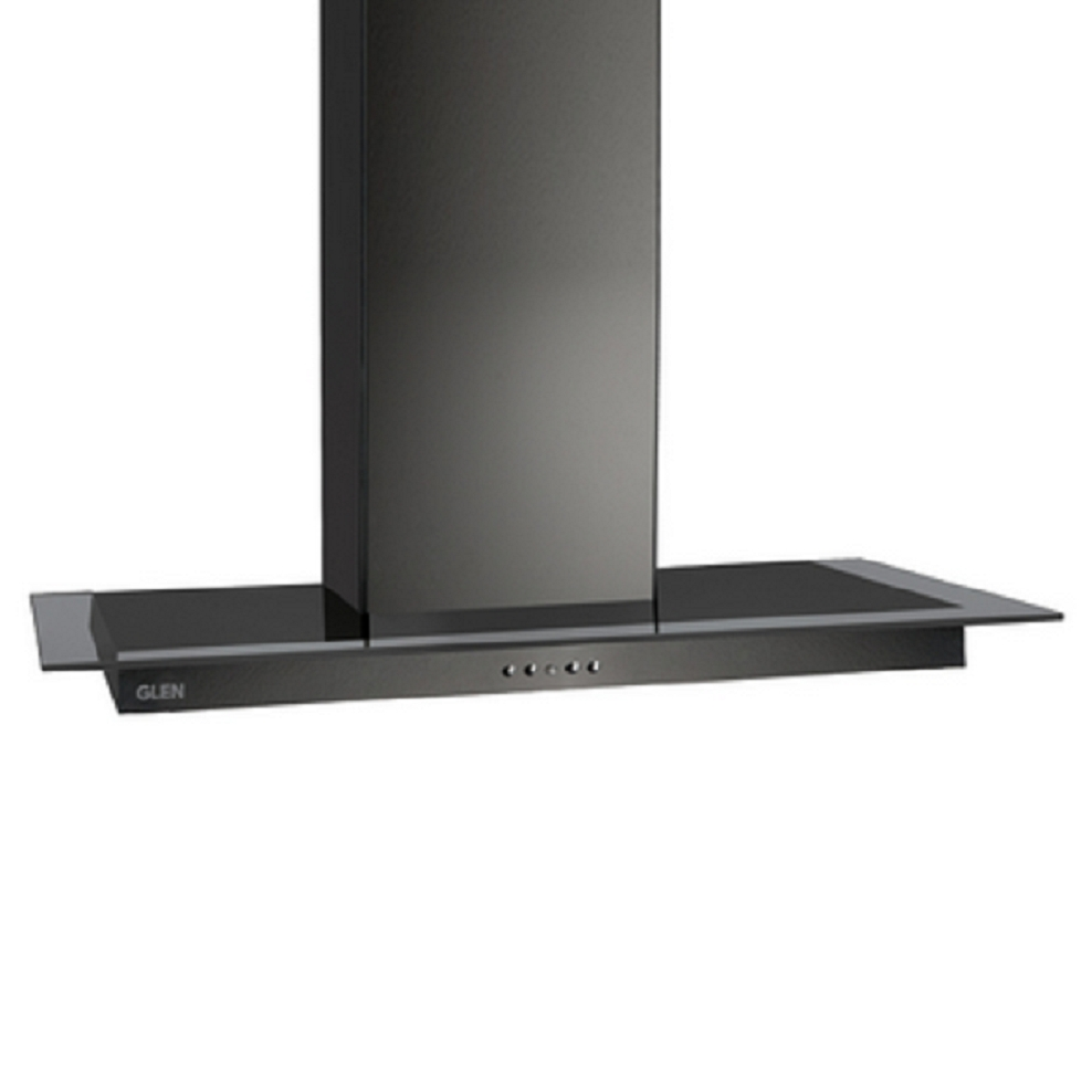 Glen Stainless steel Black Kitchen Chimney 6062 by Glen