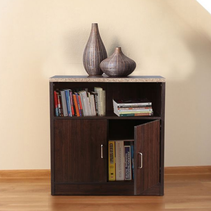 Murano Engineered Wood Storage Sideboard in Wenge Colour by HomeTown