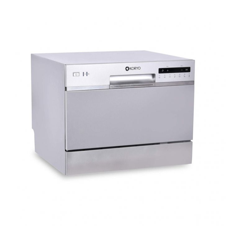 Koryo 6 Place Settings Table Top Dishwasher KDW636DS in Grey Colour by Koryo
