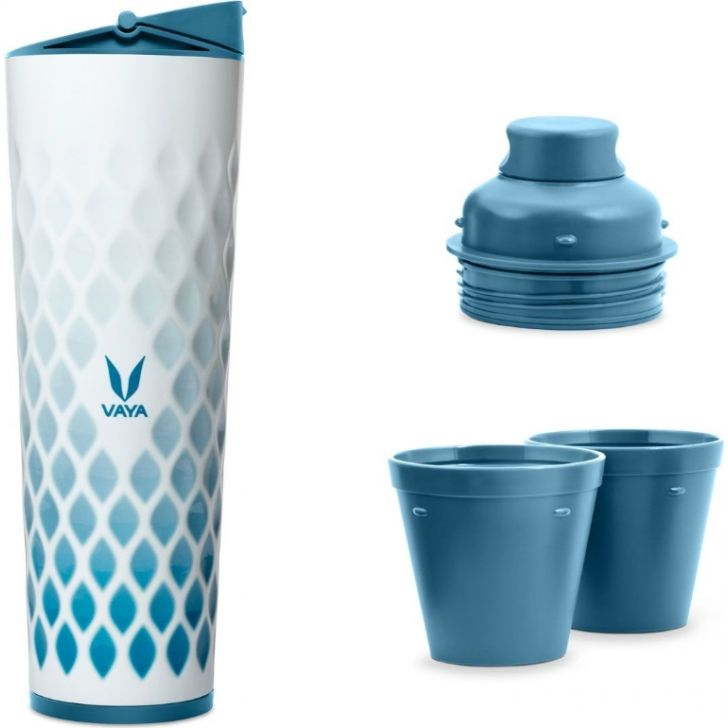 Vaya Drynk 600 Ml (Sipper + Gulper), Ice Crystal