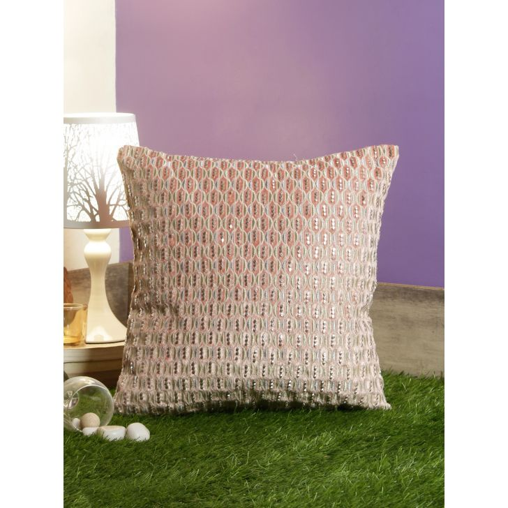 Miguel Cushion Covers in Blush Colour by Living Essence