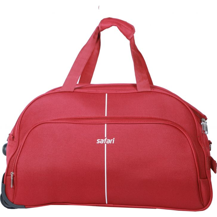 Safari Pulse Duffle on Wheel 55 cm (Red)