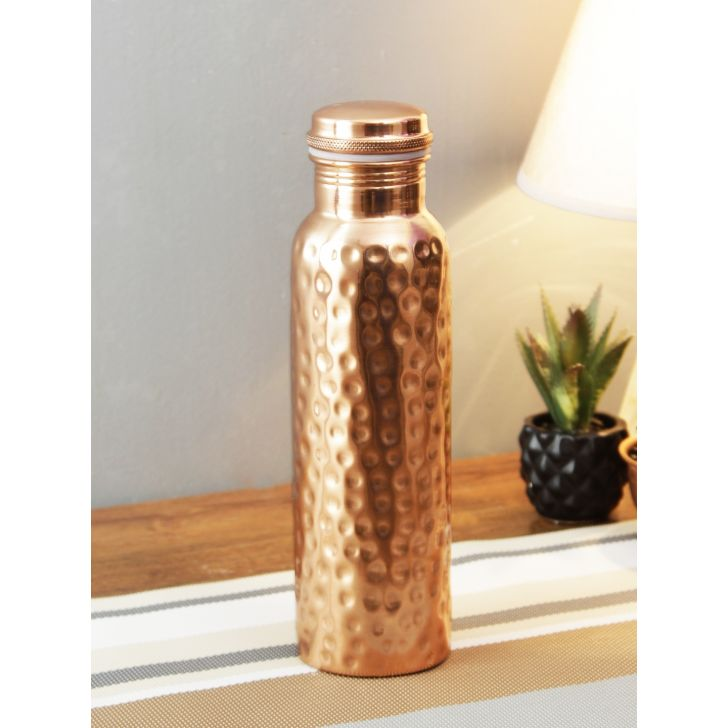 Living Essence Copper Flask in Copper Colour by Living Essence