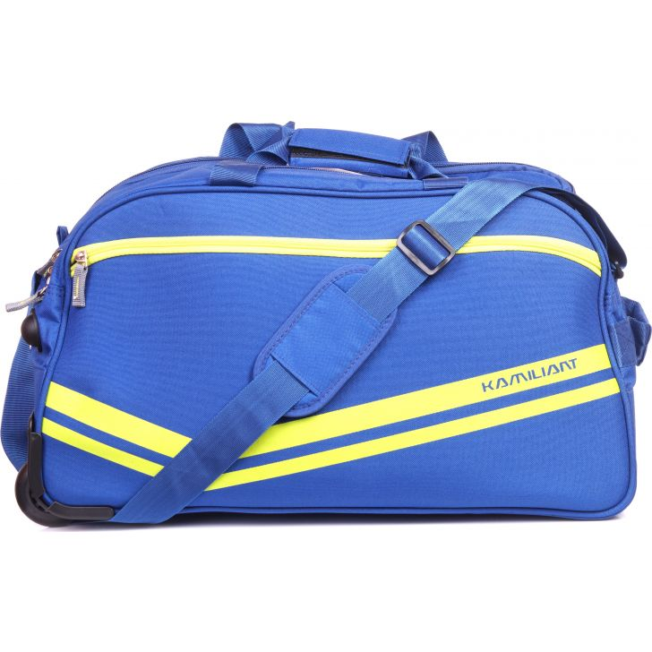 Kamiliant By American Tourister Zoro Wheen on Duffle 62 cm (Blue)
