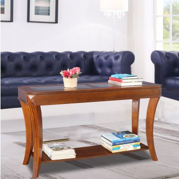 Brilliant Daffny Glass Glass Top Console Table In Brown Colour By Hometown Download Free Architecture Designs Scobabritishbridgeorg