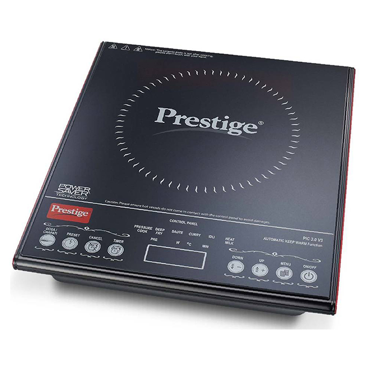 Prestige Induction Cooktop Black Cooktops by Prestige