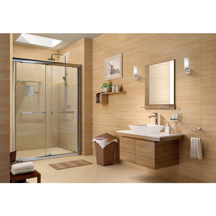 Elegant 6ft Shower Room in Clear Glass Colour by HomeTown